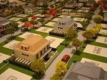 condominio com muitas casas